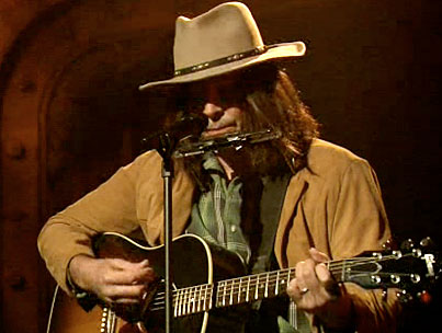 Neil Young (aka Jimmy Fallon) Belts Out 'Double Rainbow' (VIDEO)