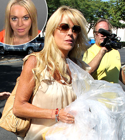 "Dina Lohan Shocked Over Lindsay's ""Common Criminal"" Jail Treatment"