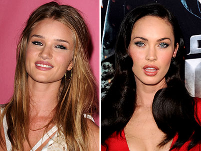 Report: Megan Fox Furious at Rosie Huntington-Whiteley