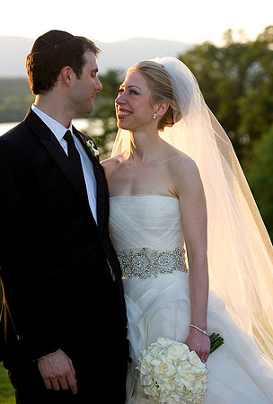 Chelsea Clinton Gets Married (PHOTOS)