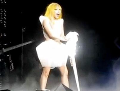 Lady Gaga Gets Political at Arizona Concert (VIDEO)