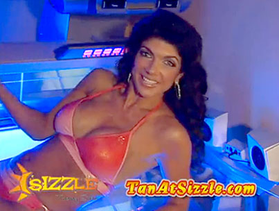 Teresa Giudice's Sizzling Tanning Commercial (VIDEO)