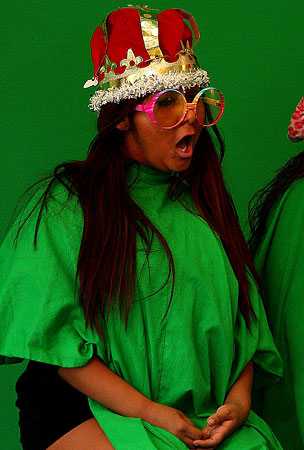 Snooki Is Queen of the Green Screen (PHOTOS)
