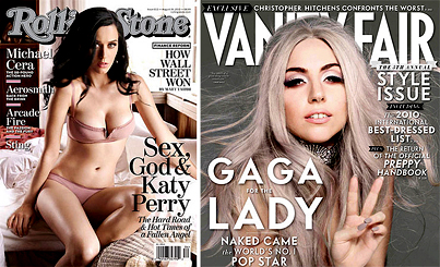 Katy Perry vs. Lady Gaga: Battle of the Magazine Covers