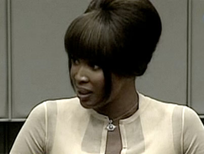 Naomi Campbell Testifies In Blood Diamond Trial (VIDEO)
