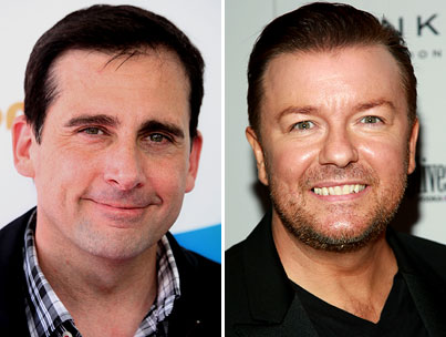 Will Ricky Gervais Take Steve Carell's 'Office' Space?