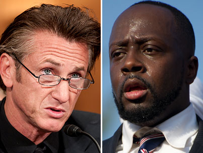 Sean Penn 'Suspicious' of Wyclef Jean's Haiti Presidential Bid (VIDEO)