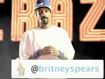 Snoop Dogg's Dying To Work With Britney (VIDEO)
