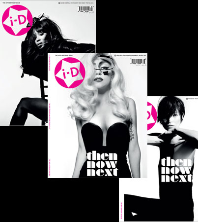 Lady Gaga, Naomi Campbell & Kate Moss All Cover 'i-D' (PHOTOS)
