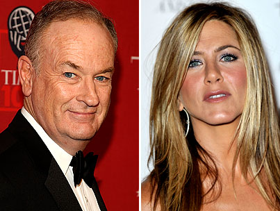 Bill O'Reilly Claims Jen Aniston Is Destroying Our Society (VIDEO)