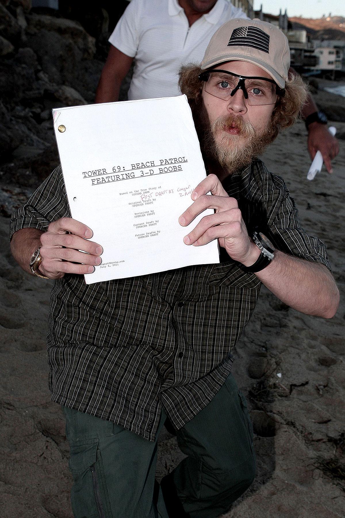 Spencer Pratt Flips the Script (PHOTOS)