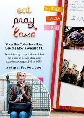 The Massive Merchandising of 'Eat Pray Love' (PHOTOS)