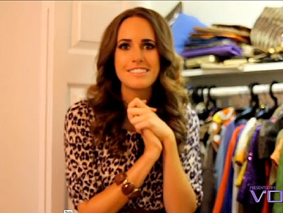 Let's Take a Peek in Louise Roe's Closet (VIDEO)