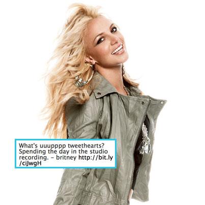 Britney Spears Back in the Studio