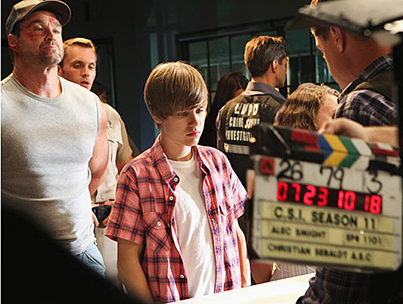 Justin Bieber Asked to Star in Another CSI Episode