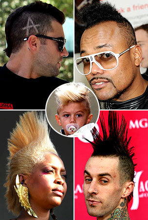 The Many Mohawks of Hollywood (PHOTOS)