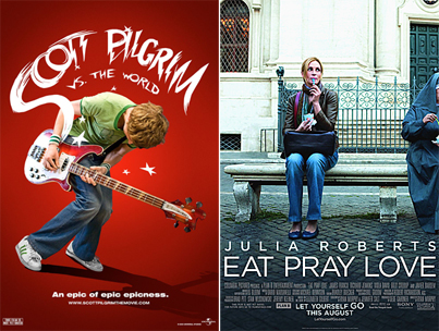 "Before You See ""Scott Pilgrim vs. the World"" or ""Eat Pray Love,"" Know This"