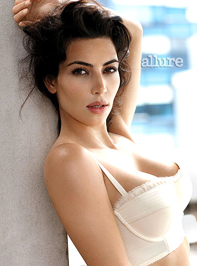 Kim Kardashian Covers Allure (PHOTOS)