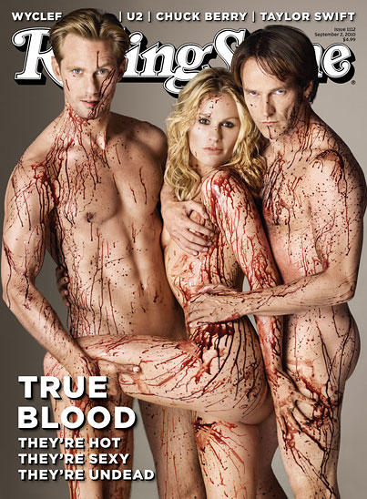 'True Blood' Does Naked 'Rolling Stone' Cover