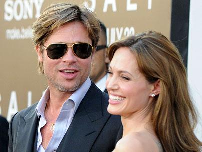 Angelina Jolie & Brad Pitt To Design Clothing Line?