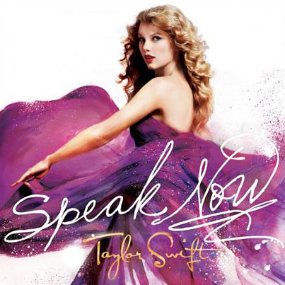 Taylor Swift Reveals 'Speak Now' Cover Art