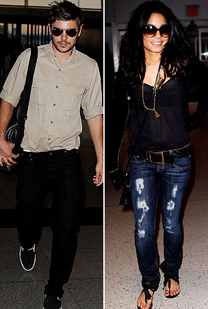Zac Efron & Vanessa Hudgens Leave NYC in Style (PHOTOS)