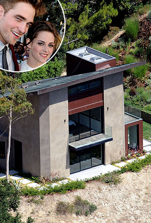 Robert Pattinson & Kristen Stewart's Pad (PHOTOS)