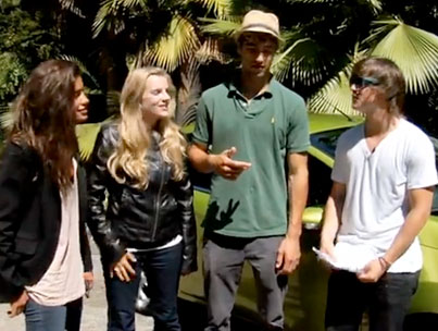 Scavenger Hunting With the 'If I Can Dream' Cast (VIDEO)