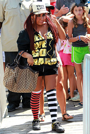 Are Brands Giving Snooki Their Competitor's Bags? (PHOTOS)