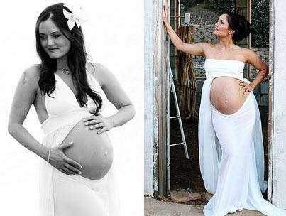 Danica McKellar Artfully Shows Off Her Baby Bump
