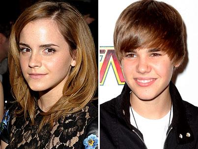 Justin Bieber Sets His Sights on Emma Watson
