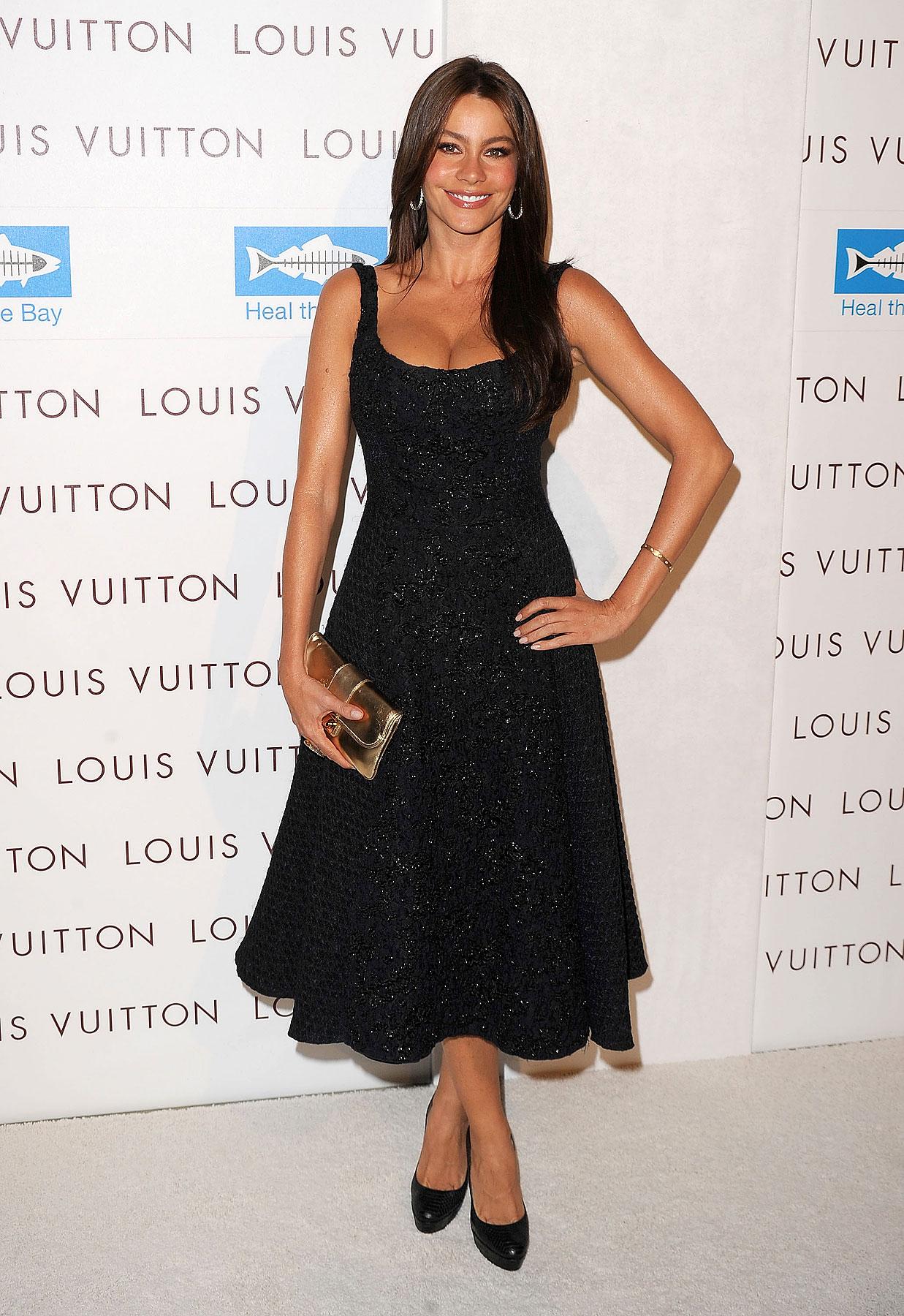 Sofia Vergara Stuns At Louis Vuitton Santa Monica (PHOTOS)