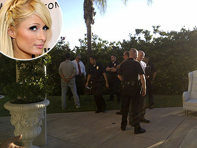 Knife-Wielding Man Arrested at Paris Hilton's House