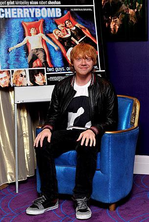 Rupert Grint Promotes 'Cherrybomb' (PHOTOS)
