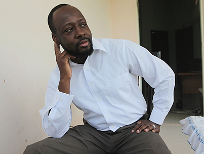 Wyclef Jean Won't Go Down Without a Fight