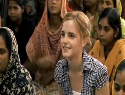 Emma Watson Visits Bangladesh for Fair Trade Fashion (VIDEO)