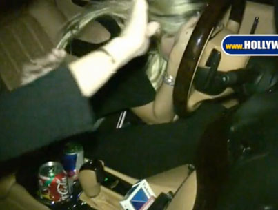 Lindsay Lohan's Late-Night Drive (VIDEO)-photo