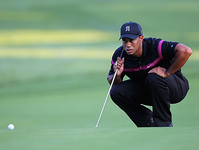 Freshly Divorced Tiger Woods Plays Best Round of the Year