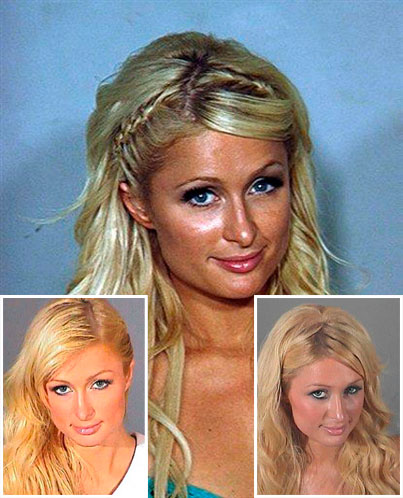 Paris Hilton's New Mug Shot