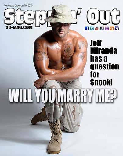 Snooki's New Man Proposes via Magazine Cover