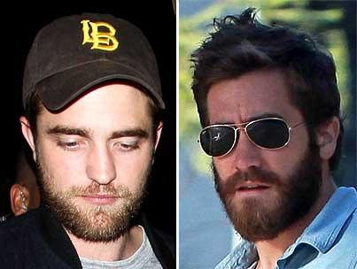 Battle of the Beards: Robert Pattinson vs. Jake Gyllenhaal
