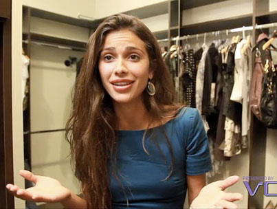 Hey, Let's Raid Giglianne Braga's Closet! (VIDEO)