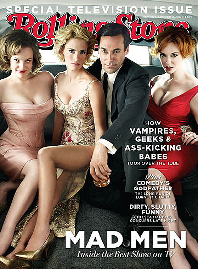 'Mad Men' Stars Steam Up Rolling Stone
