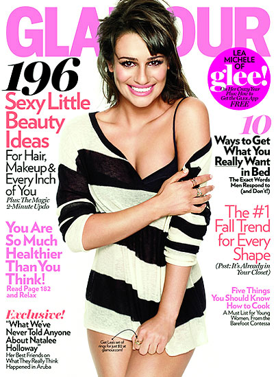 Lea Michele Talks Love, Baked Ziti With Glamour (PHOTOS)