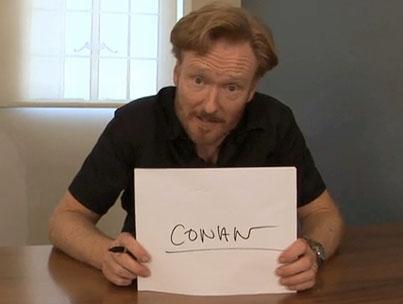 Conan O'Brien Reveals New Show's Name (VIDEO)