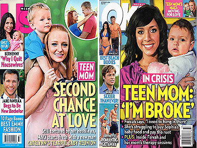 'Teen Mom' Cover Battle: Maci vs. Farrah (POLL)