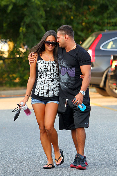 'Jersey Shore' Sammi & Ronnie Back Together? (PHOTOS)