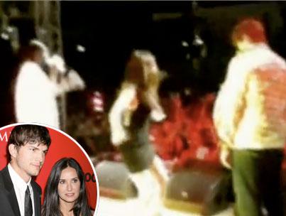 Demi Moore Dirty Dances, Ashton Kutcher Threatens to Sue (VIDEO)-photo