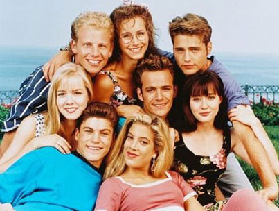 It's '90210' Day! (VIDEO)
