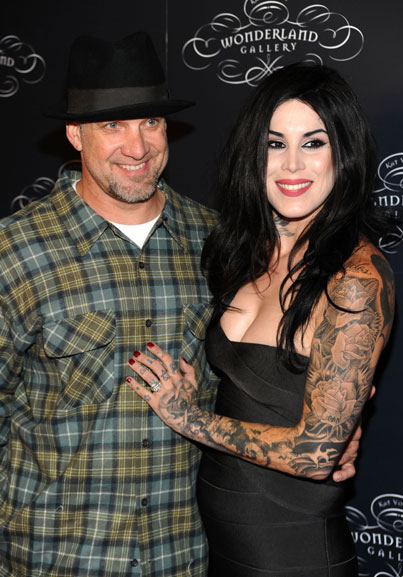 Jesse James and Kat Von D Make it Official